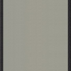 Deckchair Canvas Fabric - Grey/Black border (43cm) x 10cm