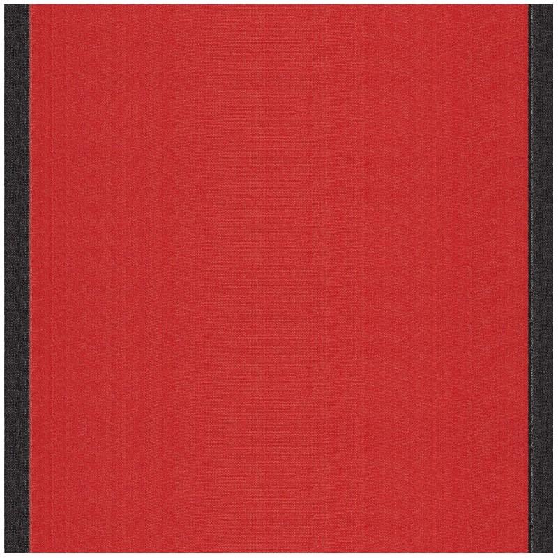 tissu toile transat uni tomette bord noir 43cm x 10cm. Black Bedroom Furniture Sets. Home Design Ideas