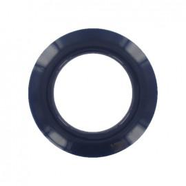Plastic Eyelet to clip - navy