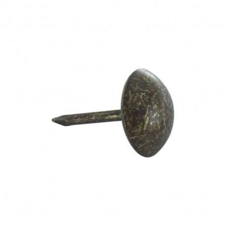 Upholstery nail 10mm, 100 pack - bronze