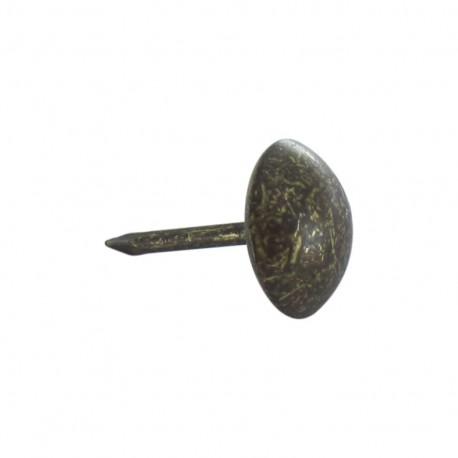 clous tapissier 10mm bronze lot de 100 ma petite mercerie. Black Bedroom Furniture Sets. Home Design Ideas
