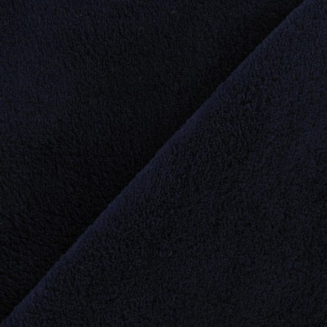 Baby's Security Blanket fabric - night blue x 10cm