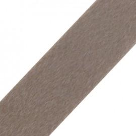 Short-haired Fur Ribbon 50mm - Beige