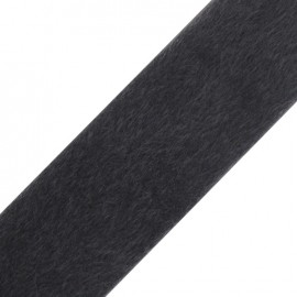 Short-haired Fur Ribbon 50mm - Grey