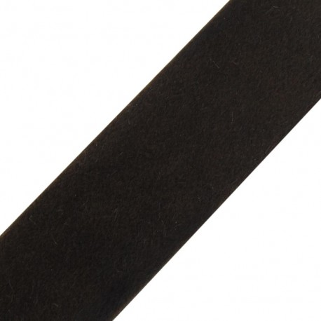 Short-haired Fur Ribbon 50mm - Light Brown