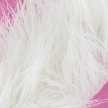 Long-haired Fur Ribbon 100mm x 50cm - ecru