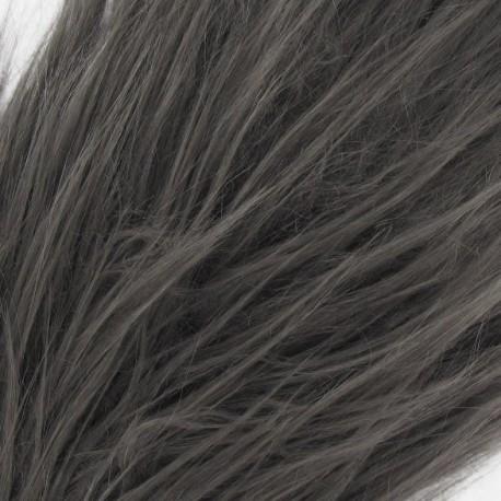 Long-haired Fur Ribbon 100mm x 50cm - Grey