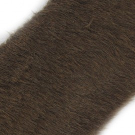 Ruban fourrure classique 100mm brun x 50cm