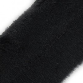Classic Fur Ribbon 100mm x 50cm - Black