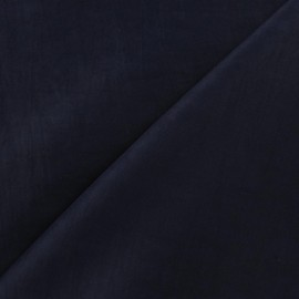 Tissu déperlant bleu marine x 10cm