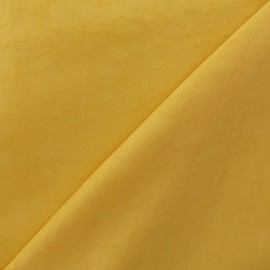 Smooth Water-repellent Softshell fabric ? Yellow x 10cm
