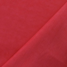 Tissu déperlant rose x 10cm