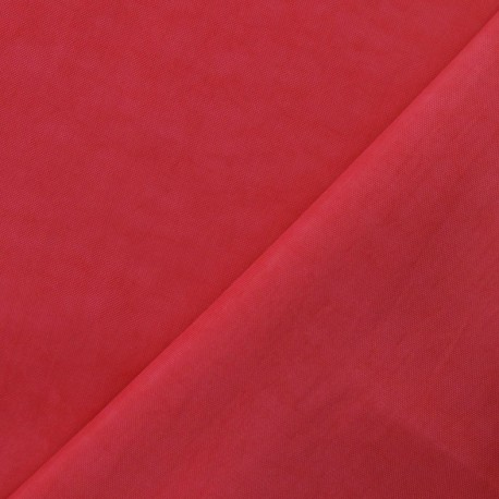 Smooth Water-repellent Softshell fabric ? Pink x 10cm