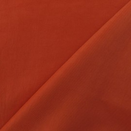 Smooth Water-repellent Softshell fabric ? Orange x 10cm