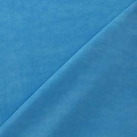 Tissu déperlant turquoise x 10cm