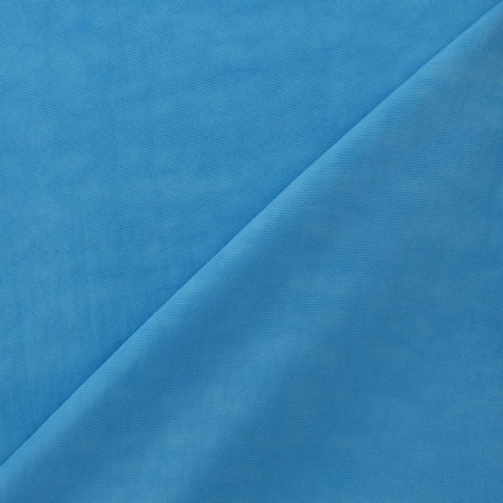Smooth Water-repellent Softshell fabric ? Turquoise x 10cm