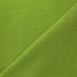 Tissu déperlant vert anis x 10cm