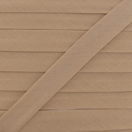 Biais Tout Textile chatain clair 20 mm