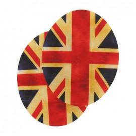 Coudière Genouillère Drapeaux British