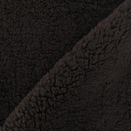 Fourrure mouton marron x 10cm