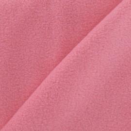 Tissu Polaire rose bonbon x10cm