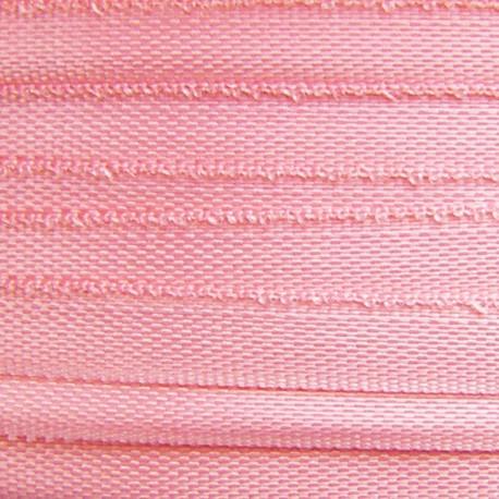 Ruban de soie rose 4 mm