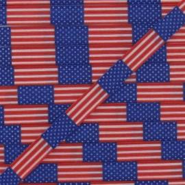 Elastique 7 mm drapeau États-unis