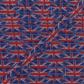Elastic English Flag 7 mm - multicolored