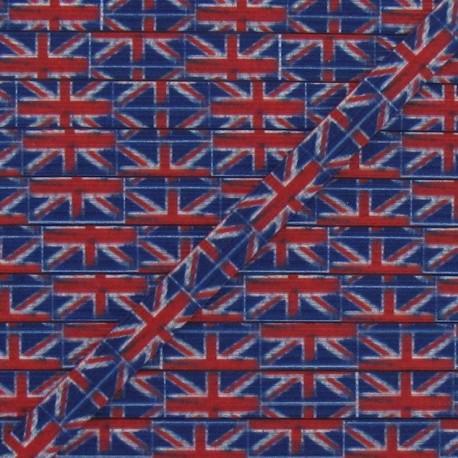 Elastic English Flag 7 mm - multicolored