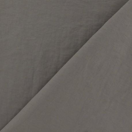 Smooth Water-repellent Softshell fabric ? Havane x 10cm