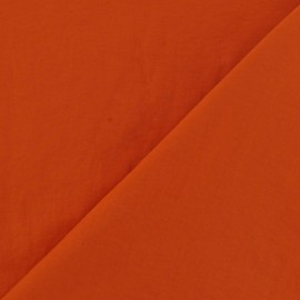 Smooth Water-repellent Softshell fabric – Orange x 10cm