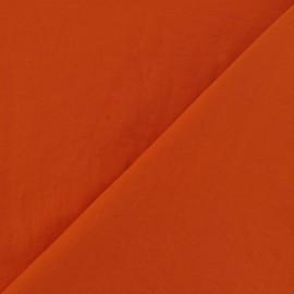 Tissu déperlant souple orange x 10cm