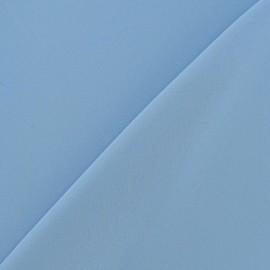 ♥ Coupon 145 cm X 145 cm ♥ Tissu Mousseline ciel