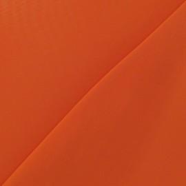 Tissu Mousseline orange x 50 cm
