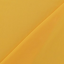 Tissu Mousseline jaune x 50 cm