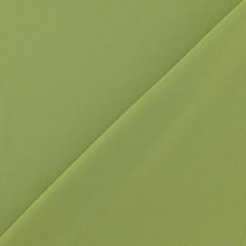 ♥ Coupon 120 cm X 145 cm ♥ Tissu Mousseline vert anis