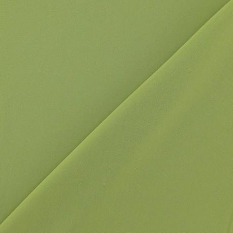 Tissu Mousseline vert anis x 50 cm