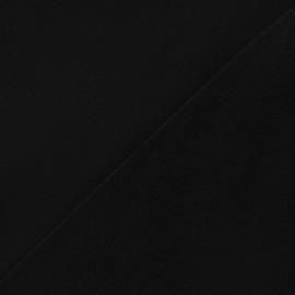 Nano-tex Water-repellent Softshell fabric ? Black x 10cm