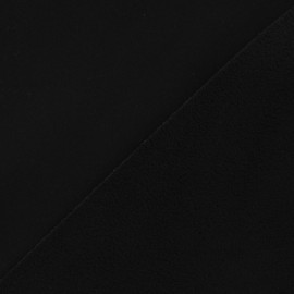 Nano-tex Water-repellent Softshell fabric ? Black x 10cm