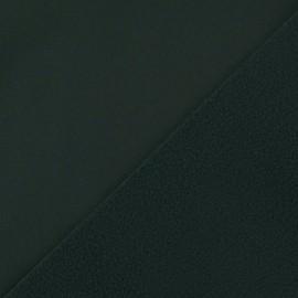 ♥ Coupon tissu 60 cm X 140 cm ♥ Nano-tex Water-repellent Softshell fabric – Military green