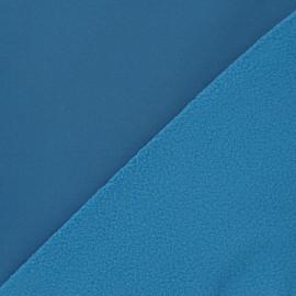 Tissu déperlant nano-tex bleu acier x 10cm