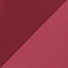 Nano-tex Water-repellent Softshell fabric ? Raspberry x 10cm