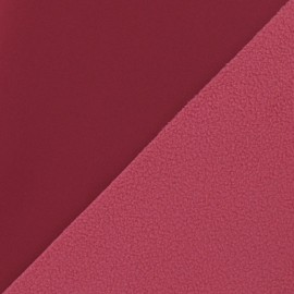 Tissu déperlant nano-tex framboise x 10cm