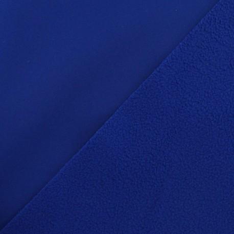 Tissu déperlant nano-tex bleu navy x 10cm