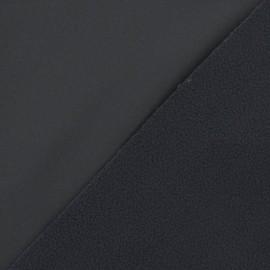 Nano-tex Water-repellent Softshell fabric ? Grey x 10cm