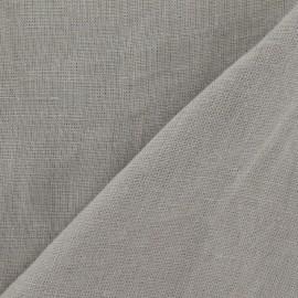 Tissu Lin lavé Stone beige  x 10cm