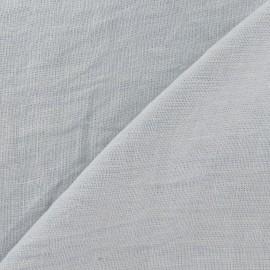Tissu Lin lavé Brume x 10cm
