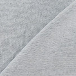 Washed Linen Fabric - Mist x 10cm