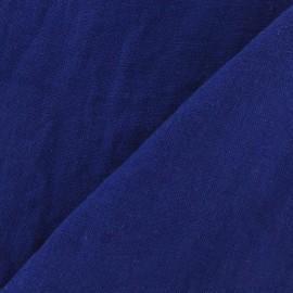 Tissu Lin lavé Indigo x 10cm