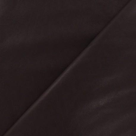 Imitation leather pearly - garnet x 10cm
